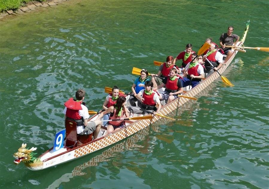 Chinese festival going global with dragon boats