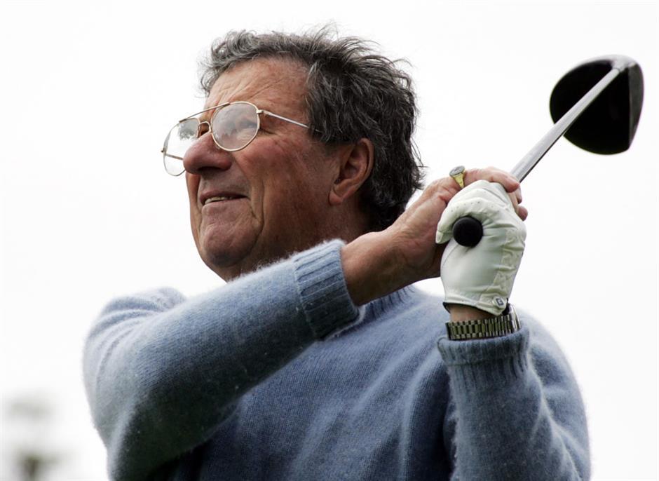Aussie Thomson, 5-time Open champ, dies at 88