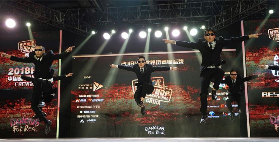 Where China opens up, hip-hop jumps in