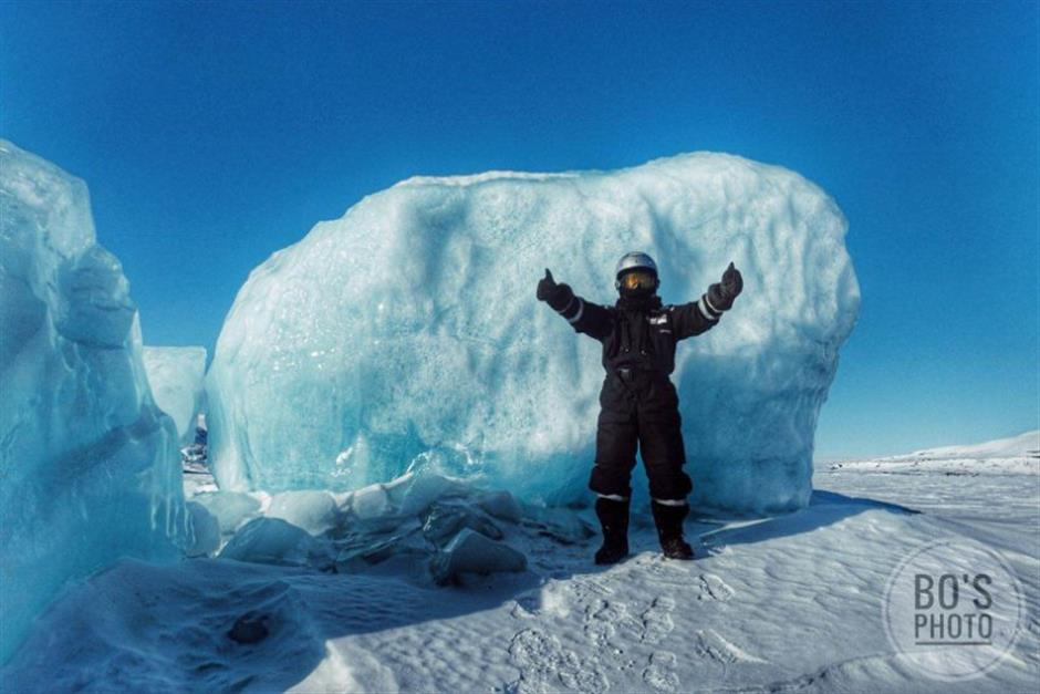 Breaking into cold sweat at the North Pole
