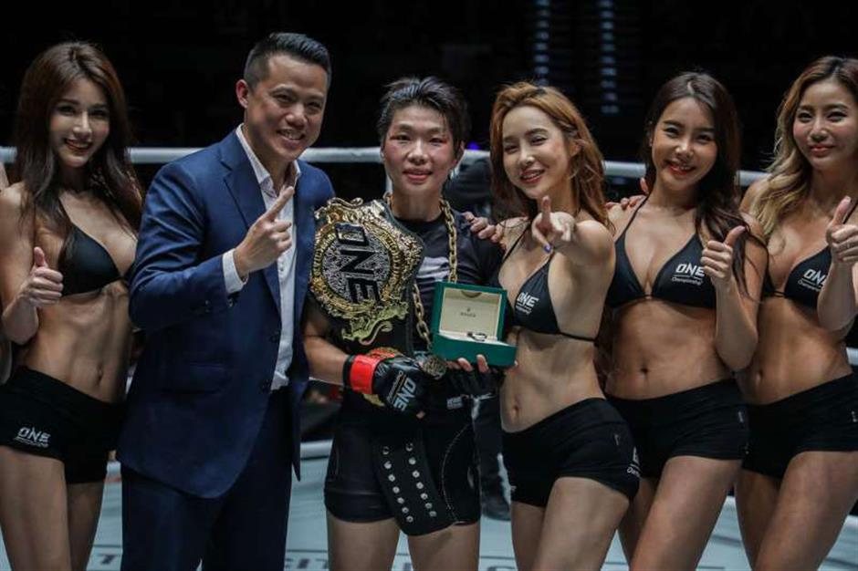Xiong defends women's strawweight title in Macau