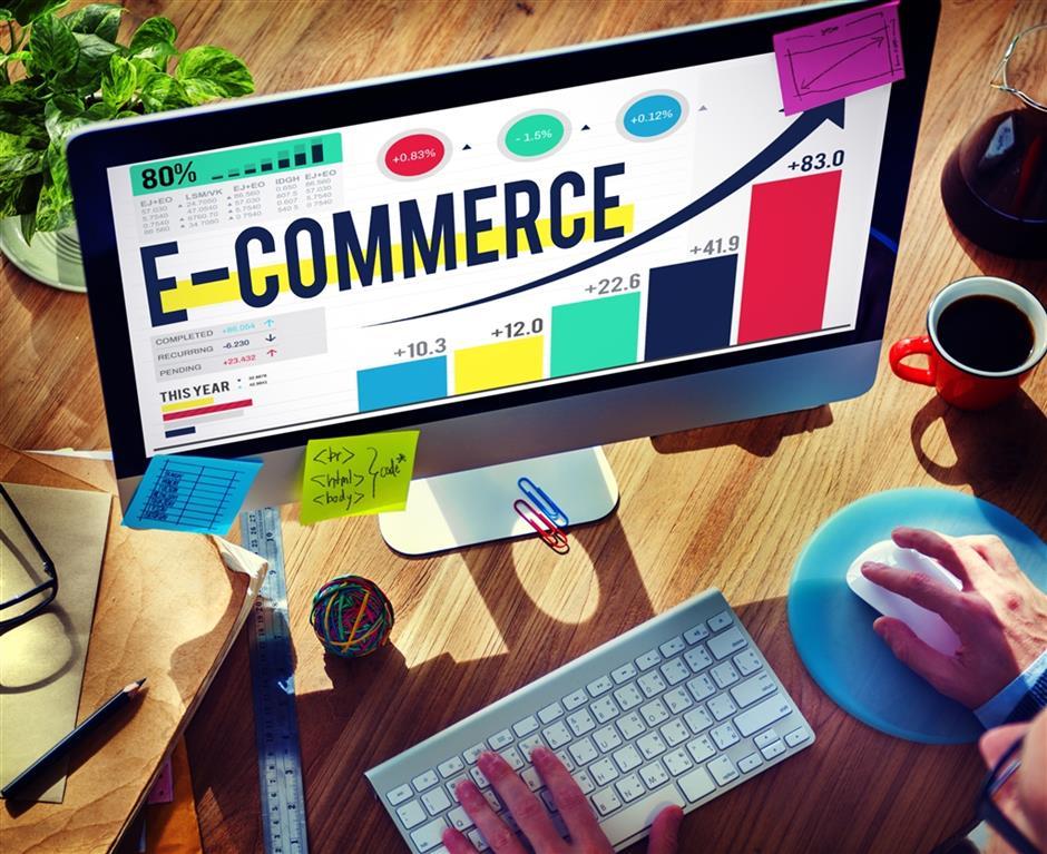 Trend towards premium products boosts online spending