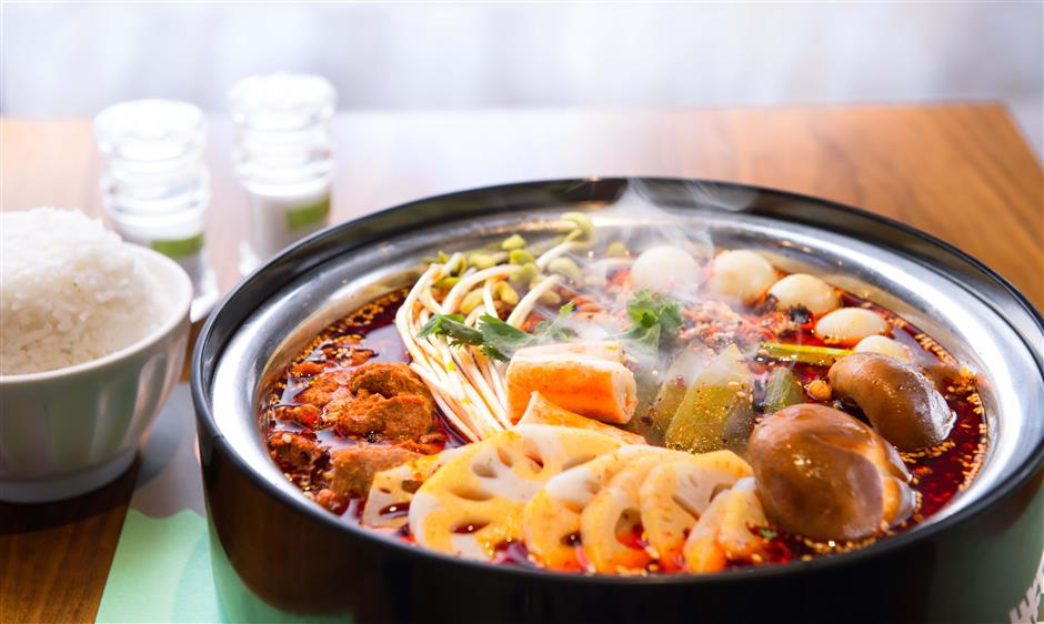 Choose your ingredients for a taste of Sichuan