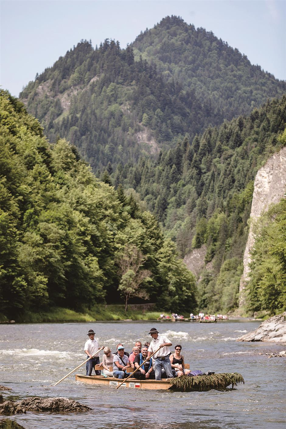 Poland's rafting culture is a family tradition
