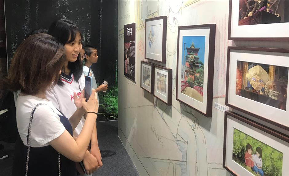Studio Ghibli exhibit opens in Shanghai