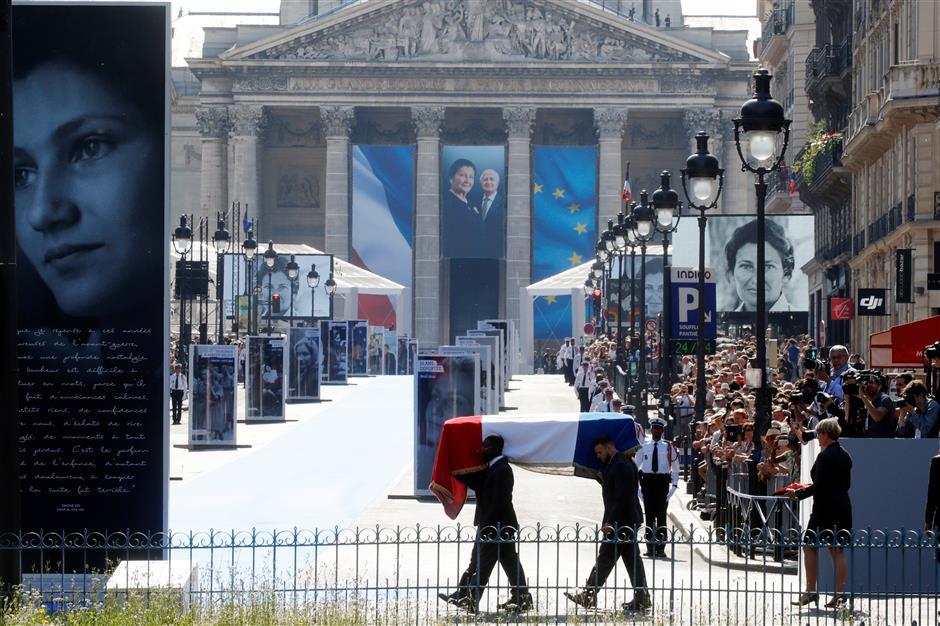Pantheon burial for Holocaust survivor
