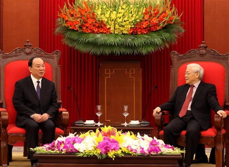 China, Vietnam vow to boost ties, cooperation
