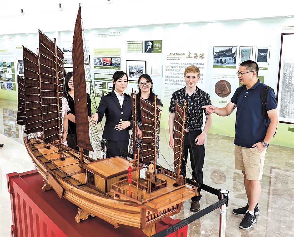 City celebrates national maritime day