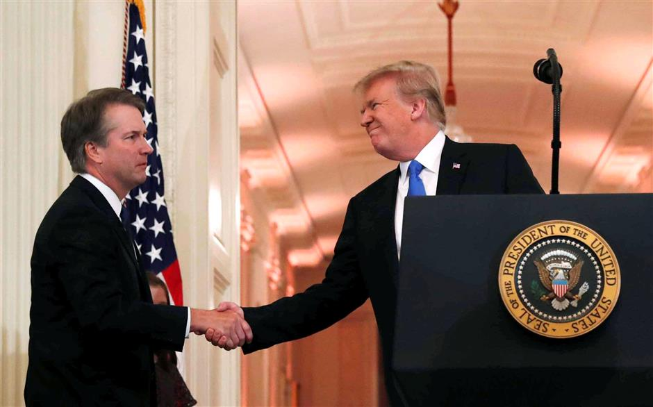 Trump picks conservative judge Kavanaugh for US Supreme Court