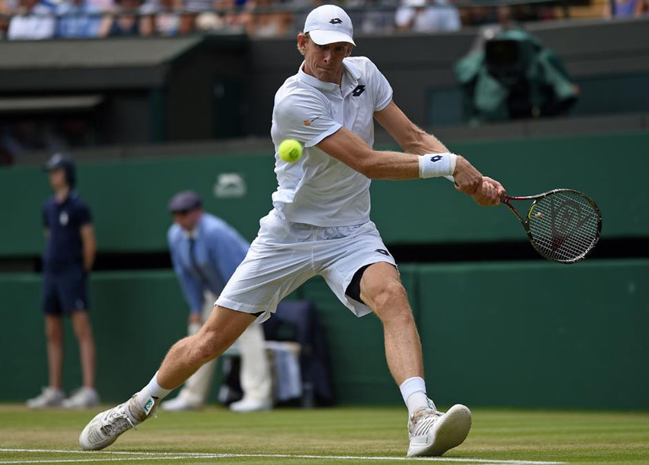 Anderson stuns Federer in last 8