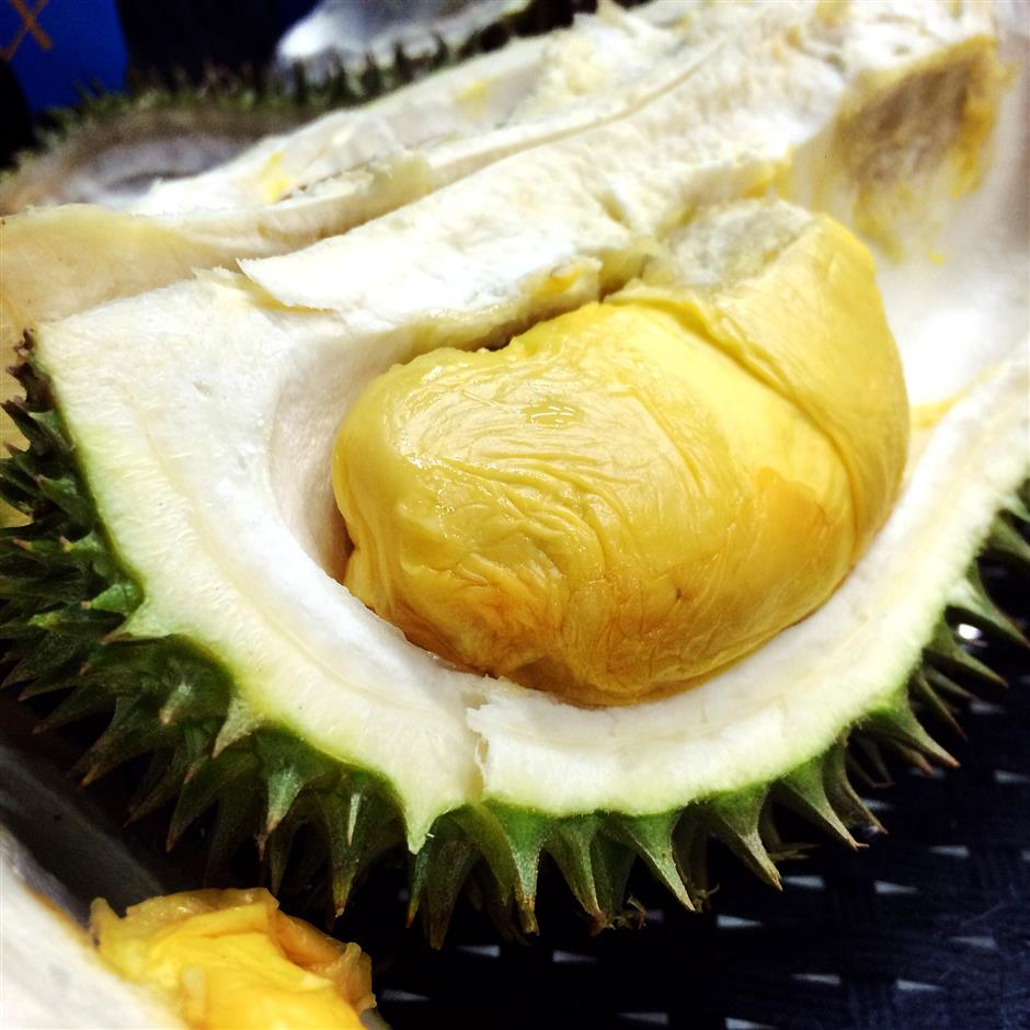 Can't get enough of stinky durian
