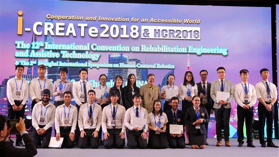 Thai students top winners in engineering challenge in Shanghai