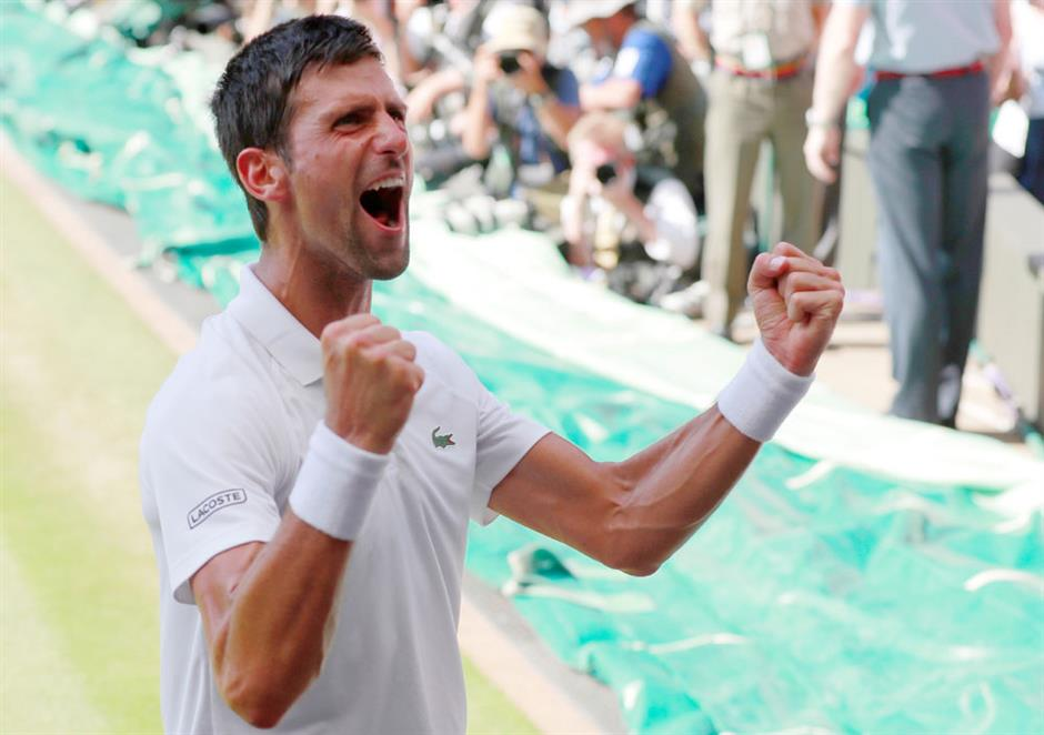 Novak rules at Wimbledon again
