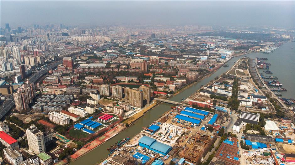 Yangpu launches effort to clean up Fuxing Island