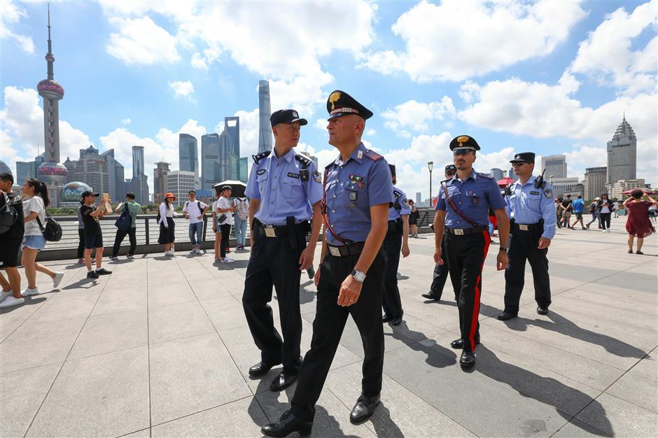 Italian police to patrol Shanghai streets