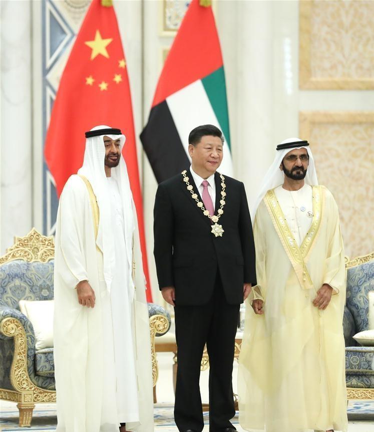 China, UAE agree to lift ties to comprehensive strategic partnership