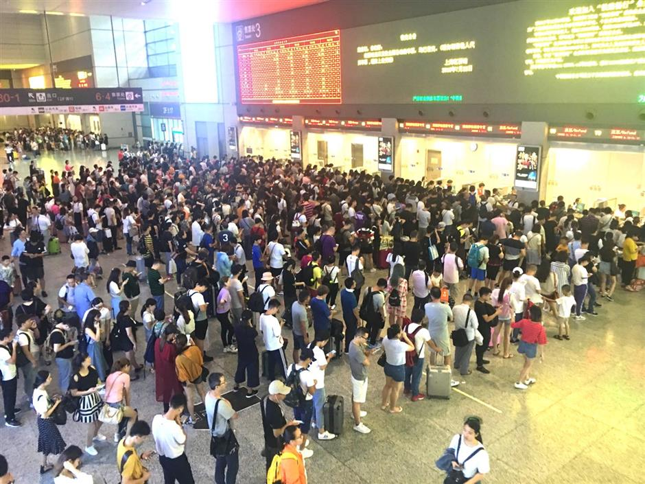Flight and railway operations to resume after typhoonAmpil tapers off
