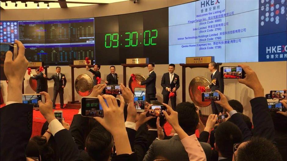 Sounding the gongs for Hong Kong stock debuts