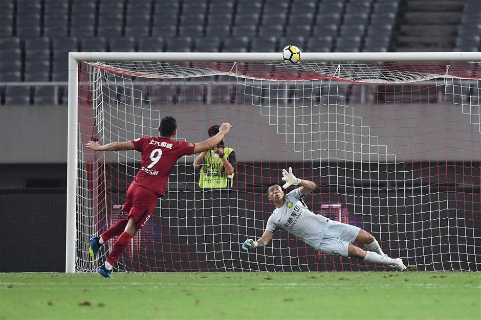Beijing Guoan edge out SIPG on shootout in CFA Cup