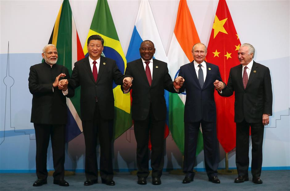 BRICS leaders back multilateral trading system under WTO rules