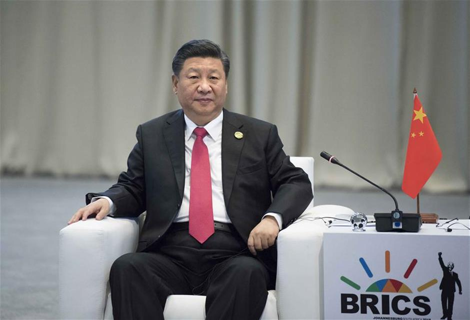 Xi calls for greater BRICS cooperation in 2nd 'Golden Decade'