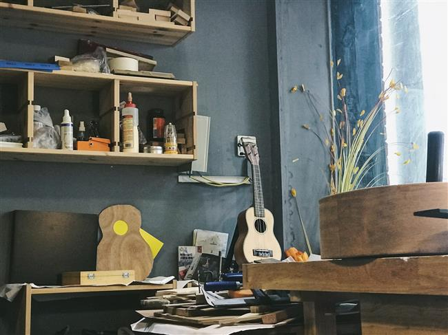 The shape of sound: Tang and his guitar making journey