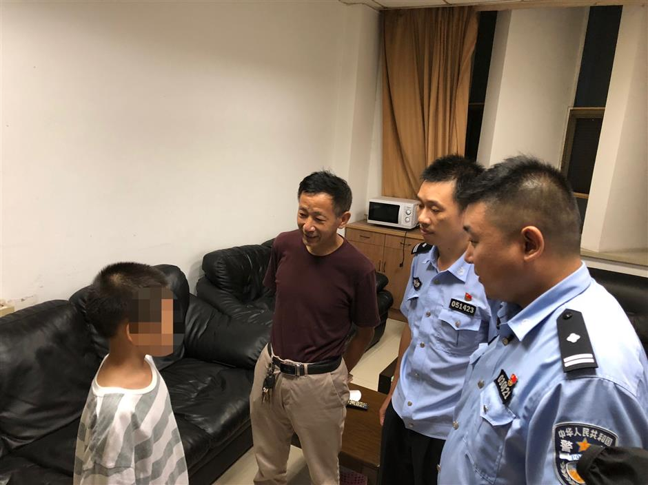 Police race against time to find missing boy before typhoon hits