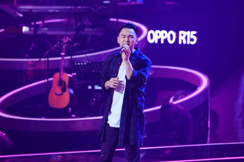 Talented Chinese-American singer joins '2018 Sing! China'