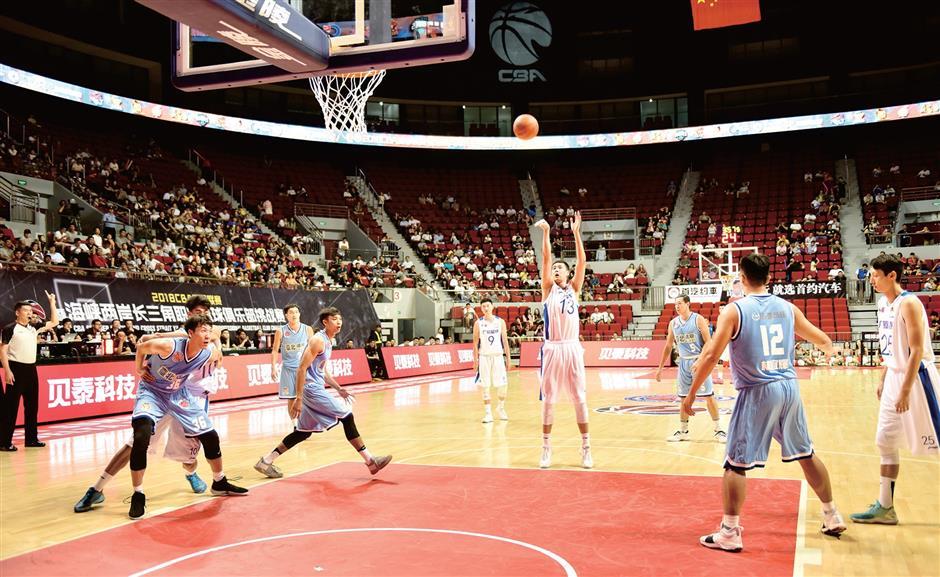 Building a community bridge on basketball