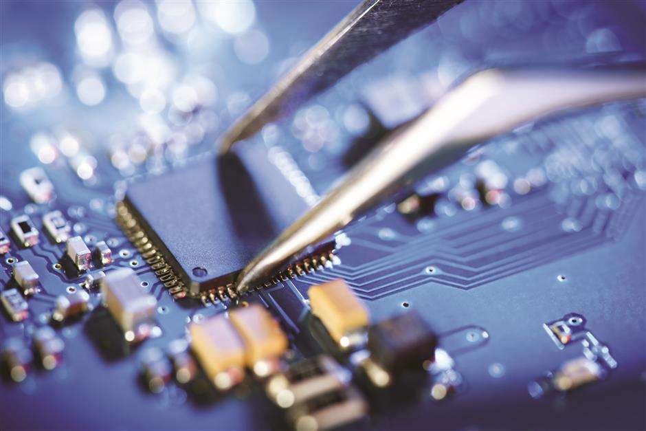 New government policies provide boost to development of the electronic chip industry