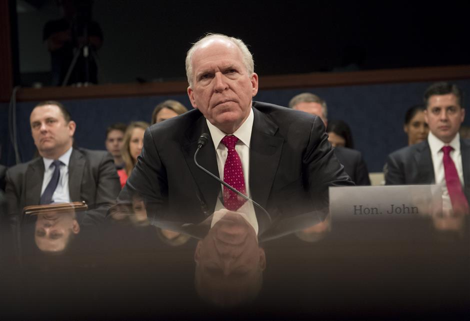 Trump opts to revoke former Central Intelligence Agency  director Brennan's security clearance