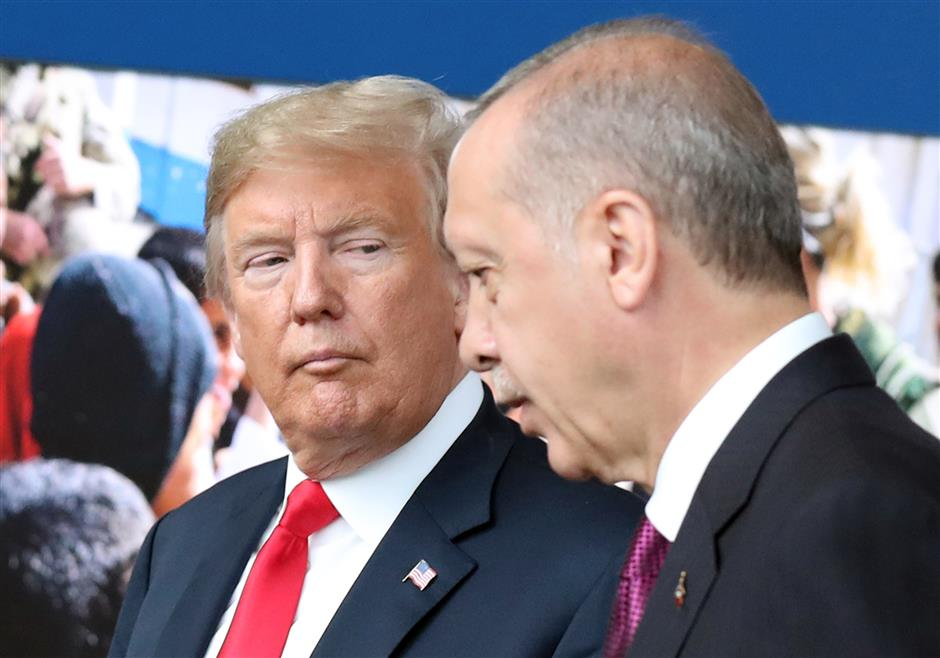 Trump attacks Turkey, vows to pay 'nothing' for US pastor's release