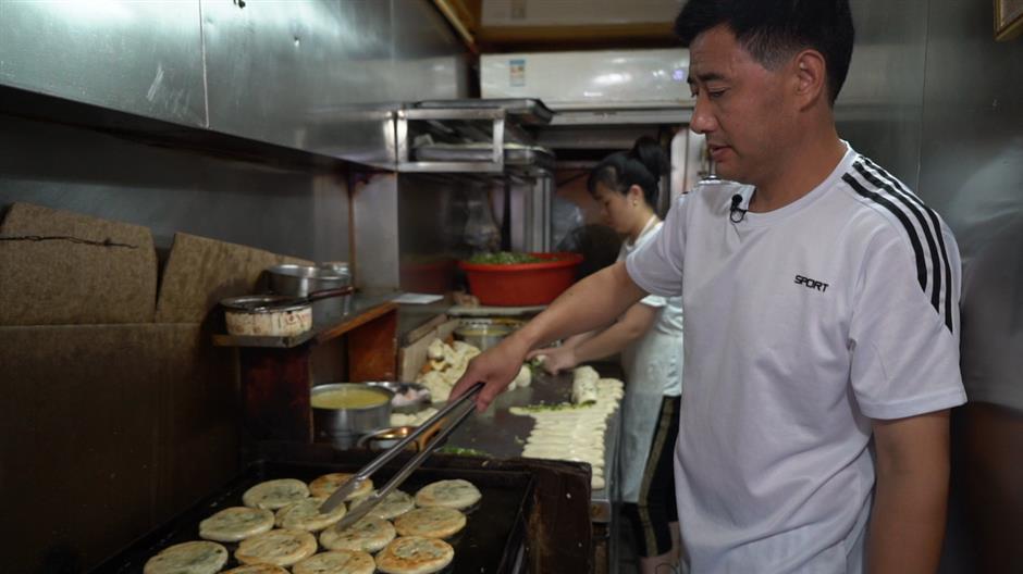 Shanghai's little flour treats: scallion pancakes and their unmistakable aroma