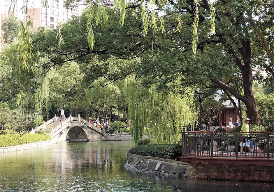 More repairs for Zhabei Park