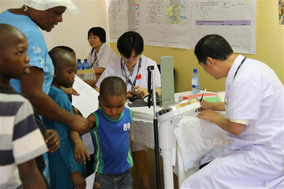 Chinese medical services boost healthcare in Africa