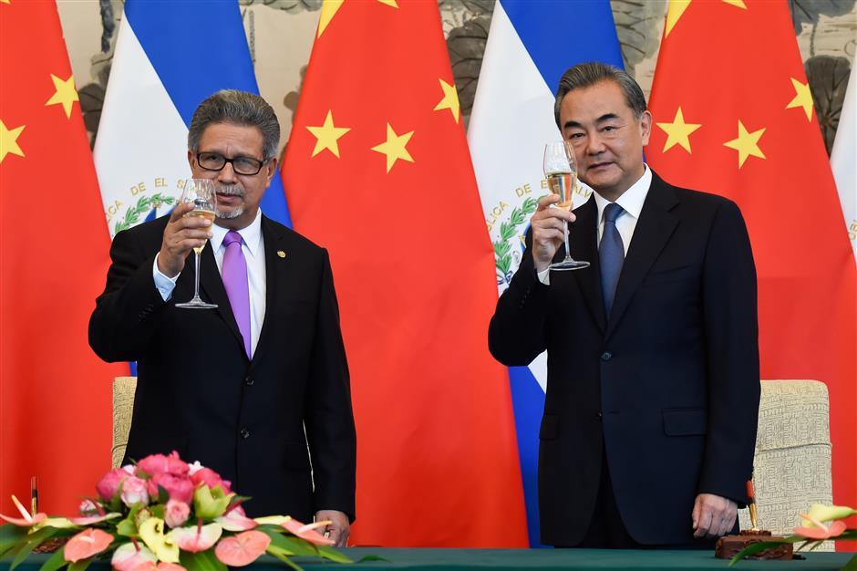 El Salvador defends its 'sovereign' decision to establish ties with China