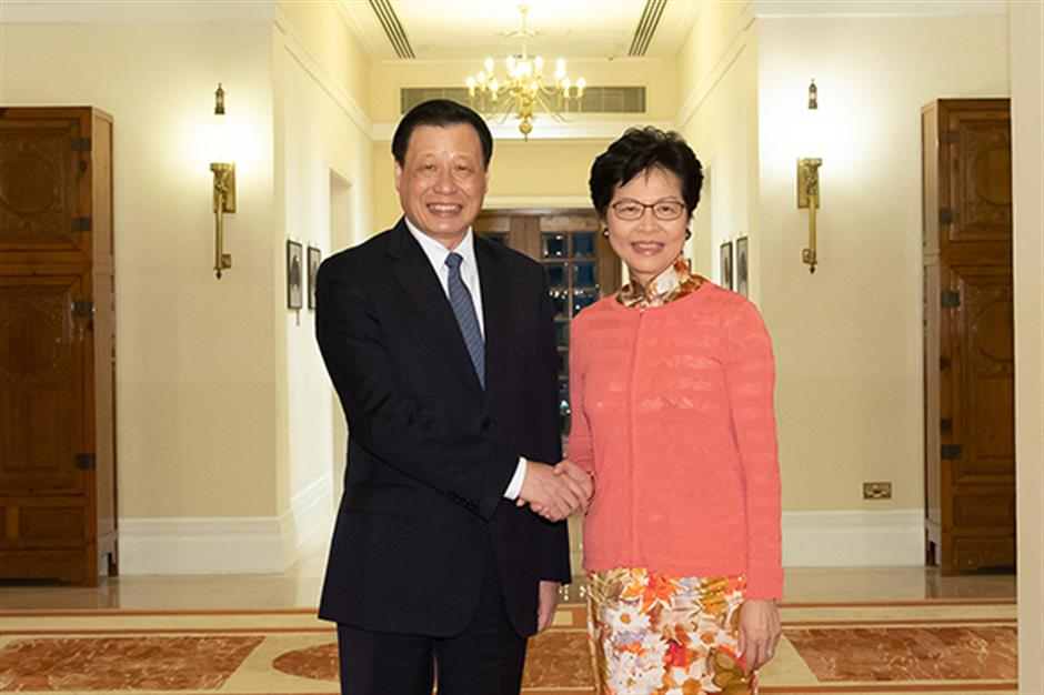 Mayor visits Hong Kong to call for wider cooperation