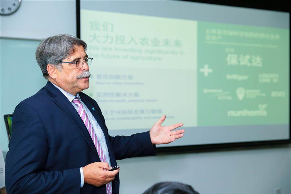BASF China unveils newly integrated agricultural solutions division