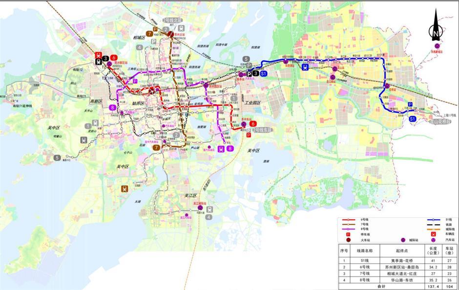 Suzhou unveils Shanghai Metro link plans