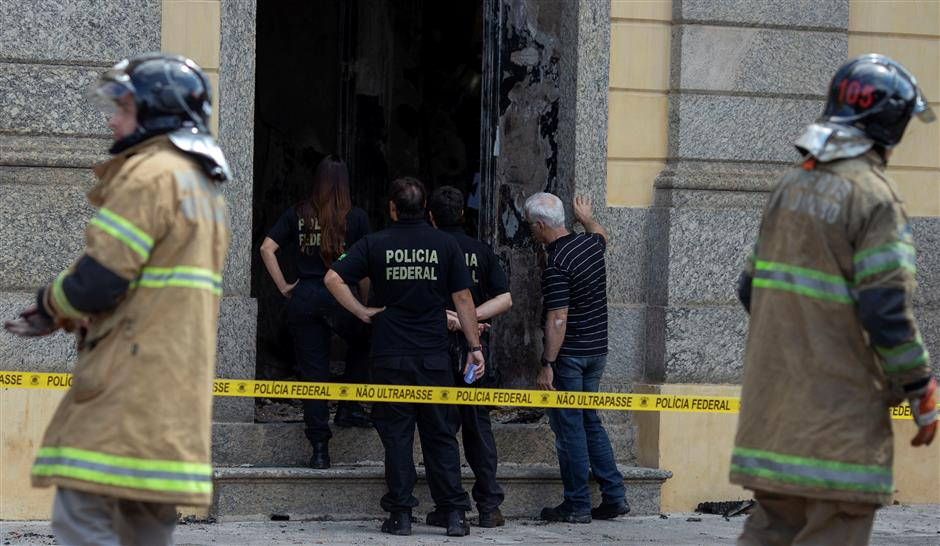 Brazil museum fire ruins 700 ancient Egyptian artifacts