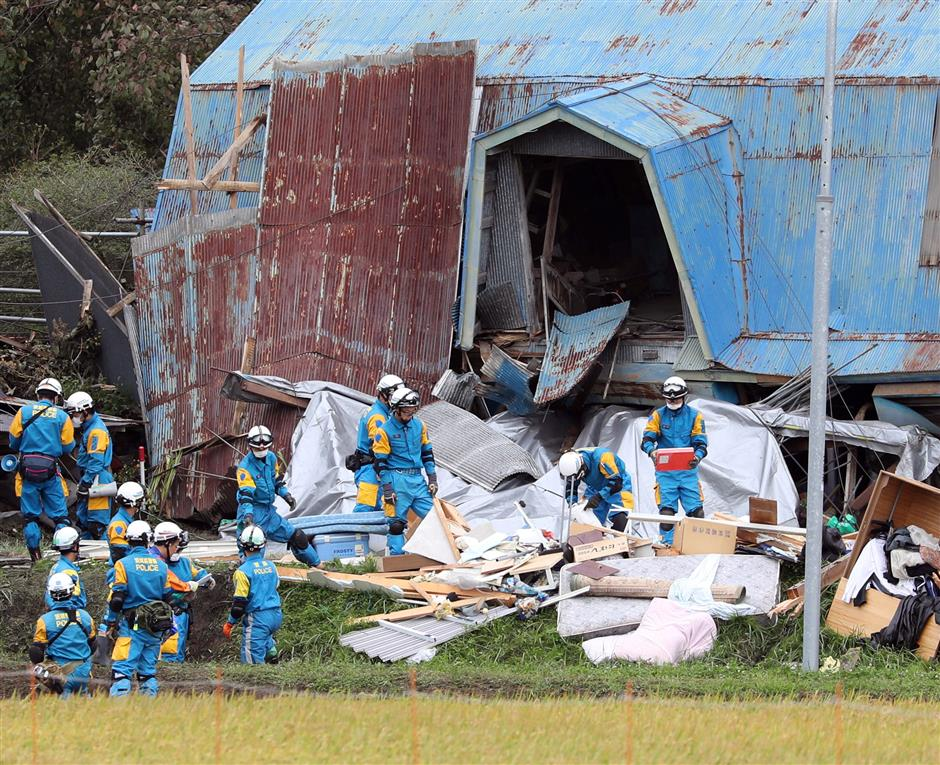 Death toll rises to 21 in wake of powerful quake at Japan's Hokkaido: gov't