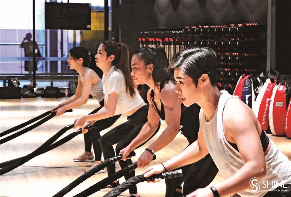 Fitness helps women fight gender roles