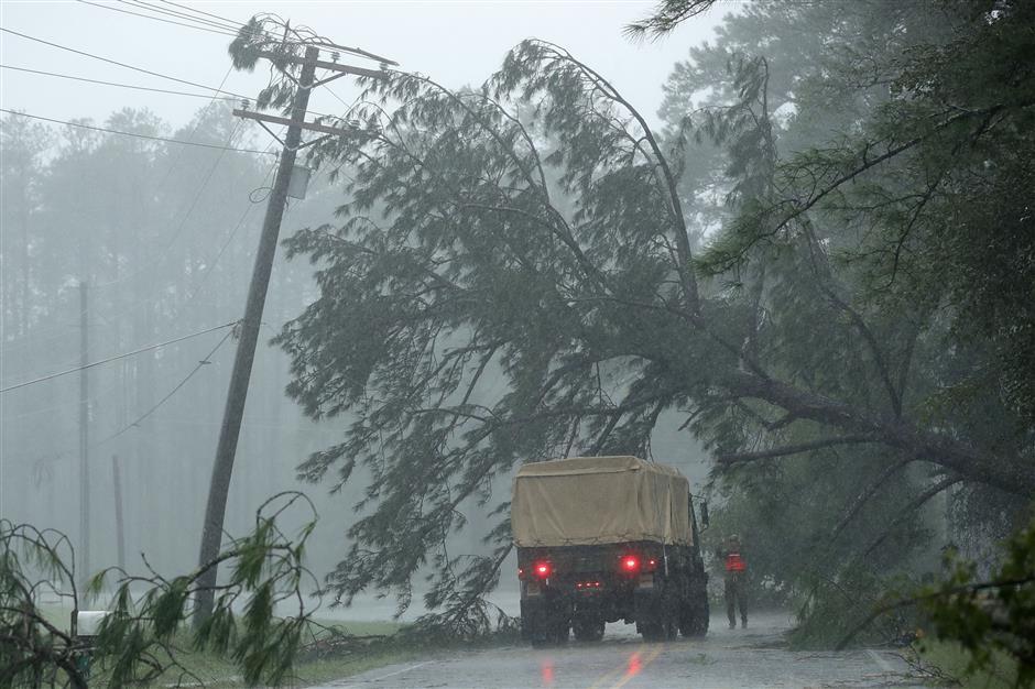 5 killed in US East Coast as Hurricane Florence weakening to tropical storm
