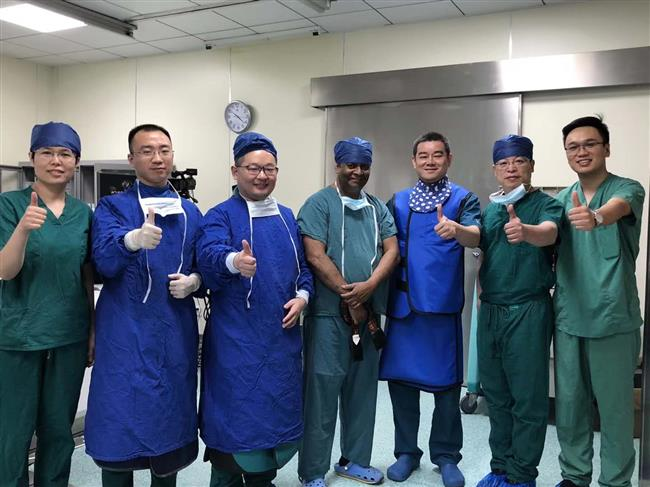 Local hospital in joint cardiovascular treatment program with US counterpart