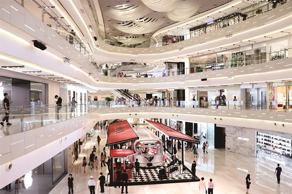Mall makeover: more than mere shopping