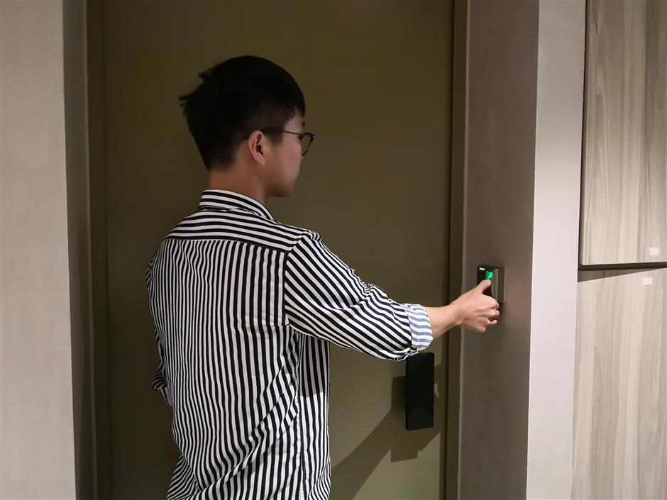 Refurbished dorm building features face recognition, fingerprint lock, and many more ...