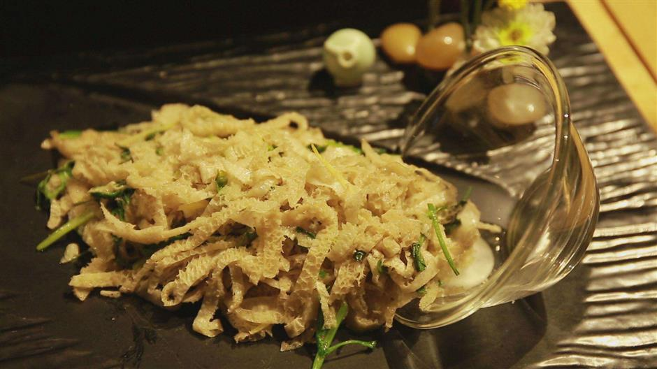 Traditional Buddhist cuisine keeps dishes simple