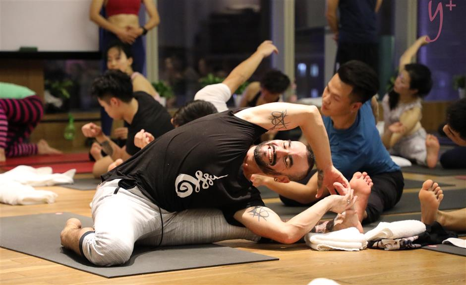 Yoga trainer takes Rocket to China