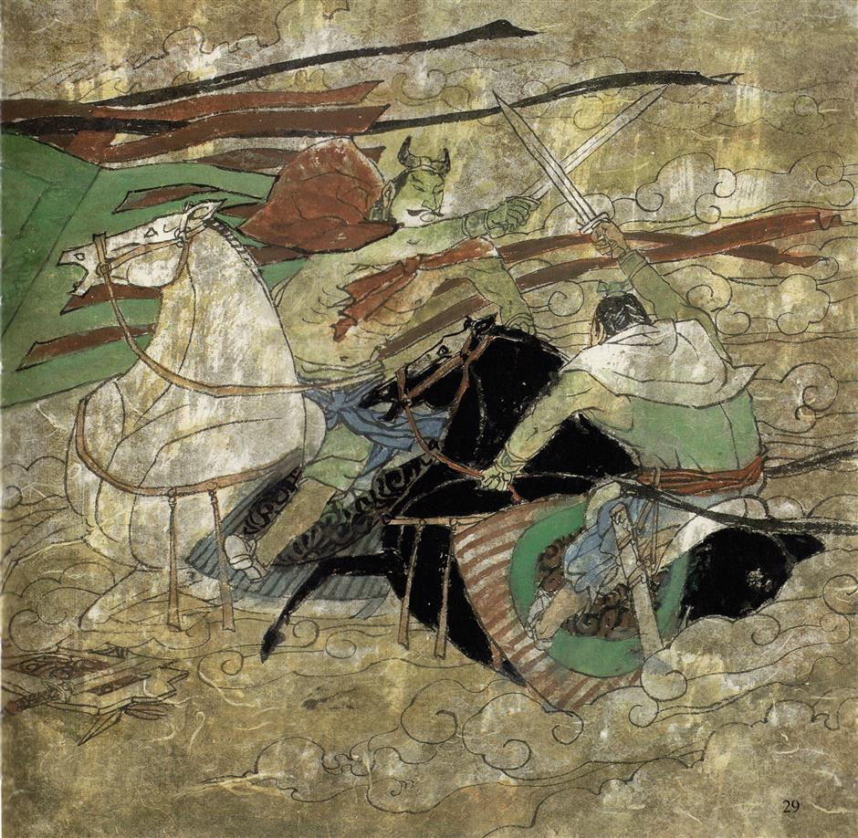 Yellow Emperor victorious in Zhuolu Battle
