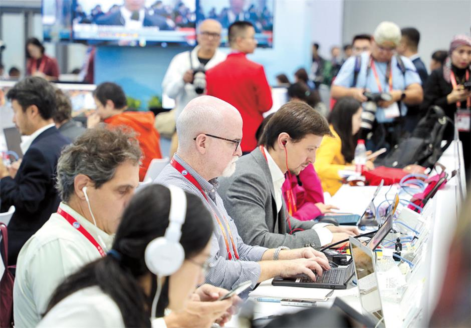 Expo media center won't be taken over by robots